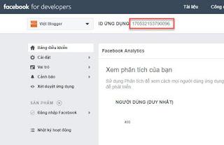 Hướng dẫn chèn script Facebook vào tiện ích HTML/Javascript