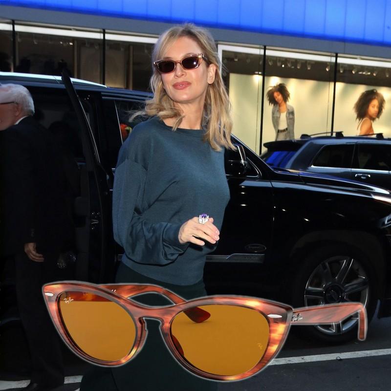 Óculos de sol das famosas para o verão 2020 - Renee Zellweger