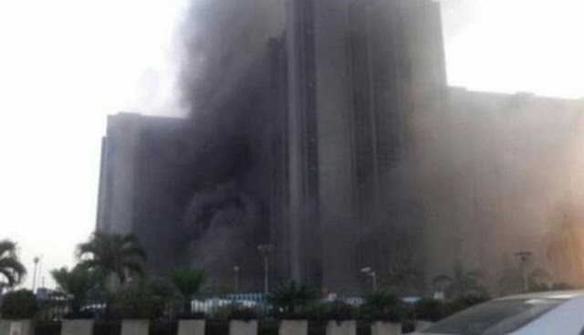 Breaking News: Fire Guts CBN Office In Gombe(Nigeria)