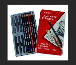 Pensil Derwent Sketching