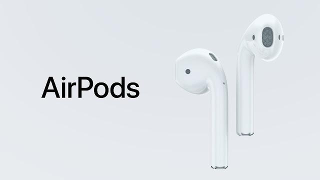 A Apple disse nesta quarta-feira que o início das vendas dos seus fones de ouvido sem fio, chamado de AirPod, que deveriam chegar ao mercado este mês, será adiado