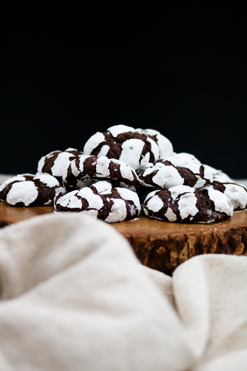 Chocolate Crinkle Cookies | Take Some Whisks