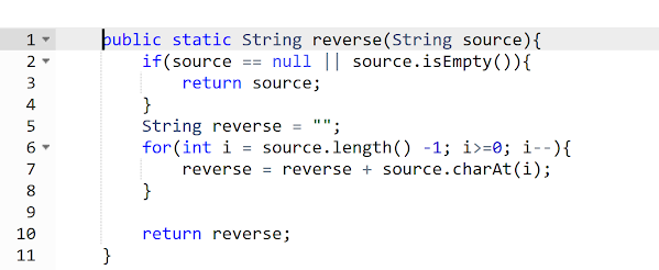 How to Reverse String in Java with or without StringBuffer Example