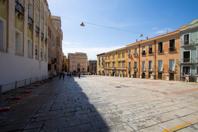 Piazza Palazzo-Quartiere Castello-Cagliari