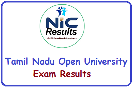 Tamil Nadu Open University TNOU Exam Results