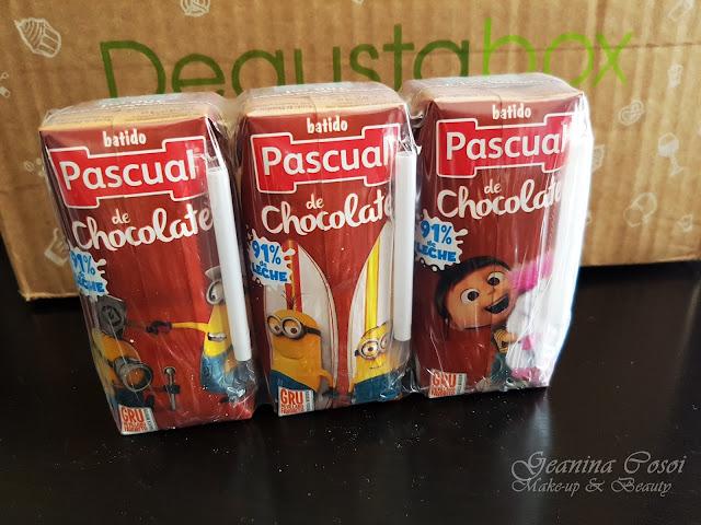 Batidos de chocolate Pascual Degustabox Agosto ´17 - Vuelta al cole y al trabajo