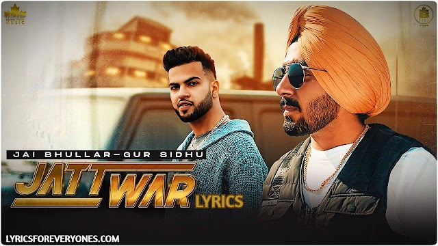 Jatt war Lyrics