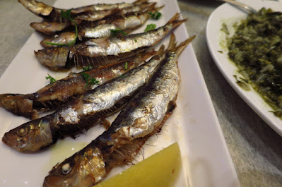Blu Kouzina, sardines