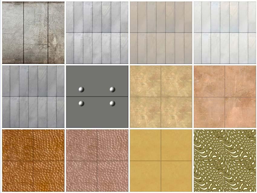 metal panel texture.  Texture SEAMLESS TEXTURES CLADDING METAL PANELS 1 DOWNLOAD Tileable  And Metal Panel Texture