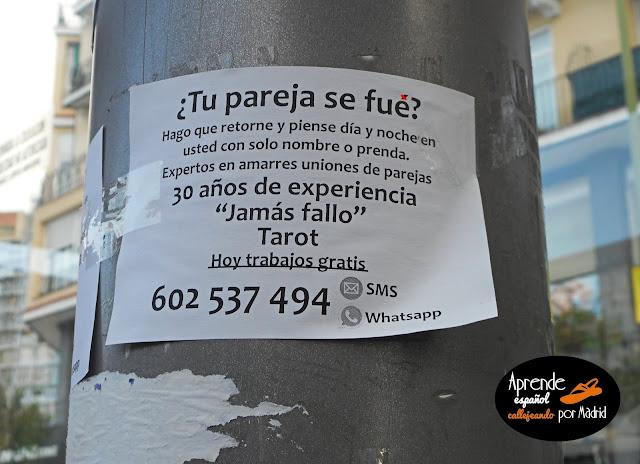 Aprende español callejeando por Madrid: Magia potagia