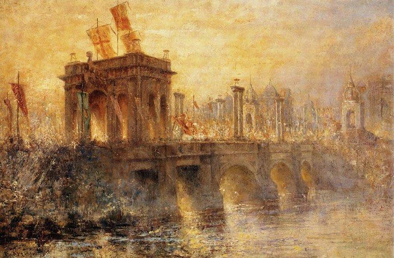 Arco do Triunfo - Frederick McCubbin e suas principais pinturas ~ australiano