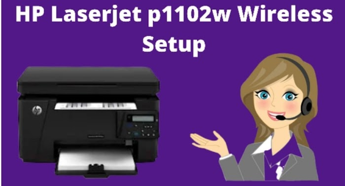 How to Setup & Install the Hp Laserjet p1102w Wireless Printer