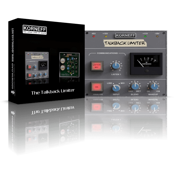 The Talkback Limiter v1.0 Full version