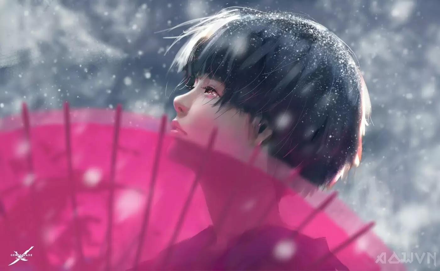 81 AowVN.org m - [ Hình Nền ] Anime Cực Đẹp by Wlop | Wallpaper Premium / Update