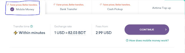 Send Money From USA To Bangladesh bKash