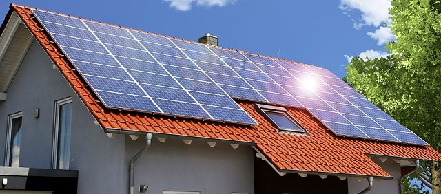 different ways power home energy sources solar panels