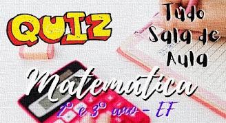 Prova online de matemática 2° e 3° ano sobre o Sistema de Numeração