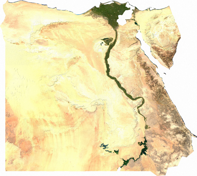 ANTHROPOLOGY OF ACCORD Map On Monday EGYPT - Map of egypt's natural resources