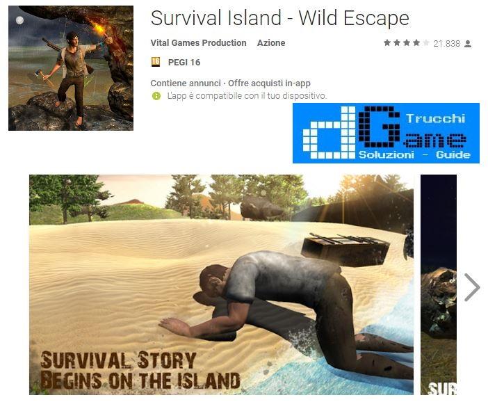 Soluzioni Survival Island - Wild Escape