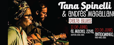 Country Blues en Argentina: Delta Blues en Junio!