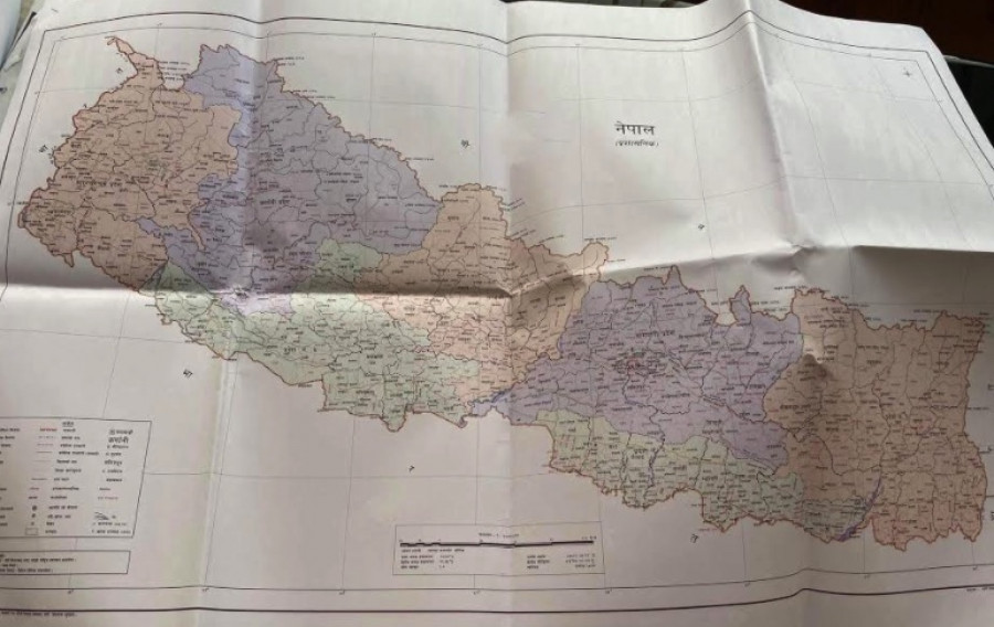 New Political Map Of Nepal 2020 Including Limpiyadhura