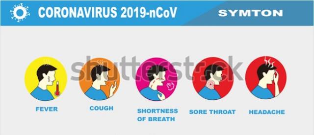illustration stock corona virus