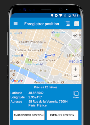 تطبيق Save Location GPS للأندرويد, تطبيق Save Location GPS مدفوع للأندرويد, Save Location GPS apk