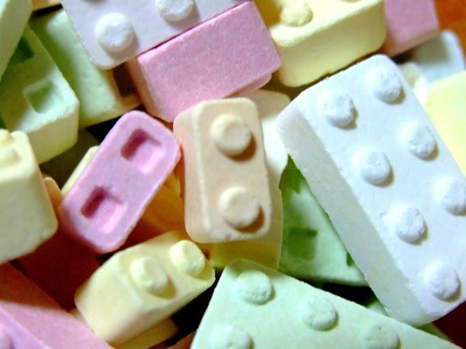 062 #かわいい #お菓子 #ラムネ菓子 #ブロック