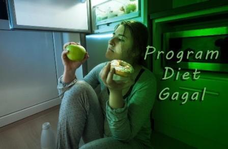 penyebab-gagal-diet