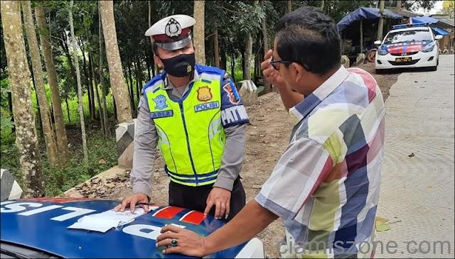 Ops Patuh Lodaya Tindak 860 Pelanggar dan Tegur Ribuan Pengendara