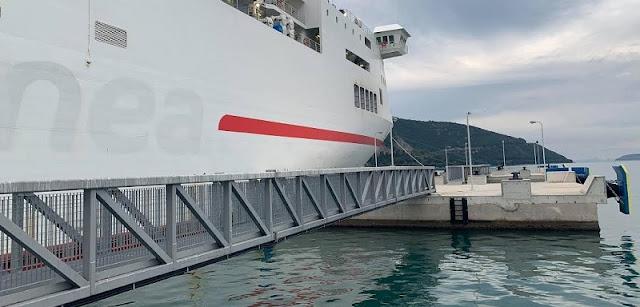 Ήγουμενίτσα: Σε λειτουργία αποβάθρα 197 μ. στο λιμάνι Ηγουμενίτσας, που είναι έτοιμο προς ιδιωτικοποίηση