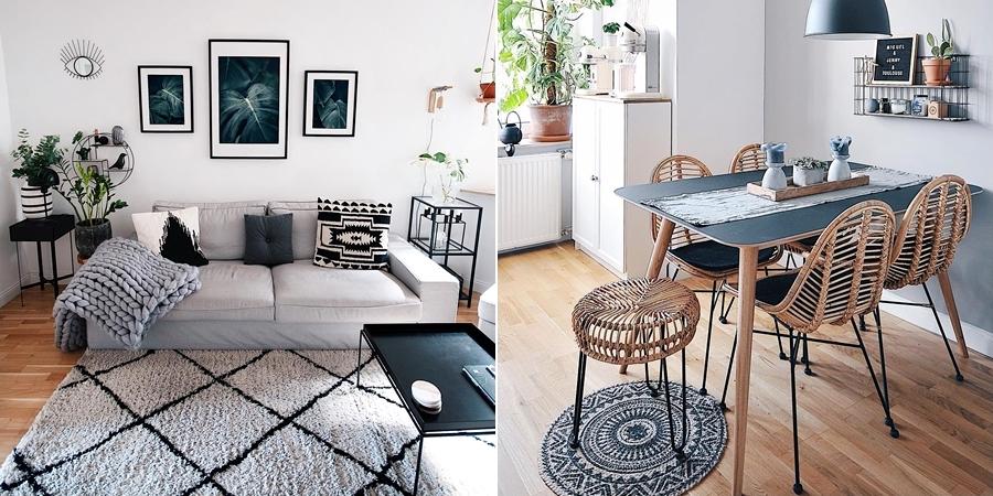 Szarości, prostota i odrobina skandynawii, wystrój wnętrz, wnętrza, urządzanie domu, dekoracje wnętrz, aranżacja wnętrz, inspiracje wnętrz,interior design , dom i wnętrze, aranżacja mieszkania, modne wnętrza, szare wnętrza, styl skandynawski, scandinavian style, urban jungle,