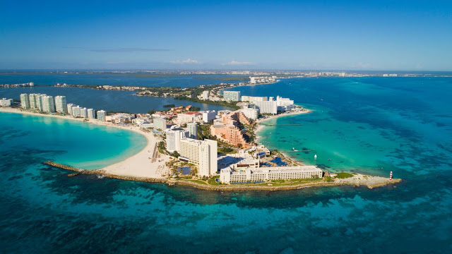Mexican Caribbean increase UK the travel industry nearness