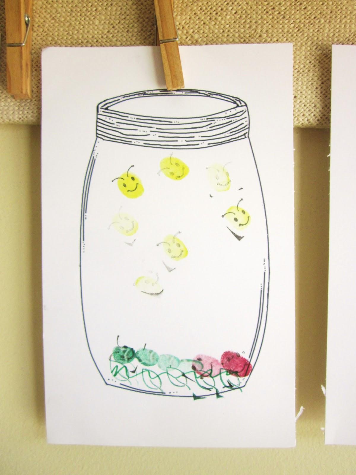 Embellishing Life Kids Art With A Mason Jar Printable