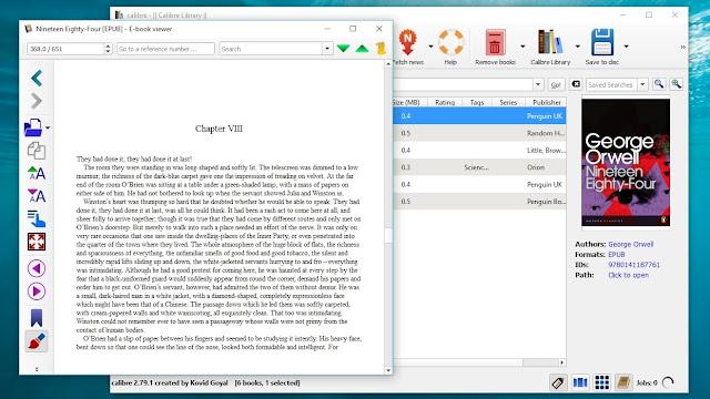 Calibre - Best macOS eBook reader