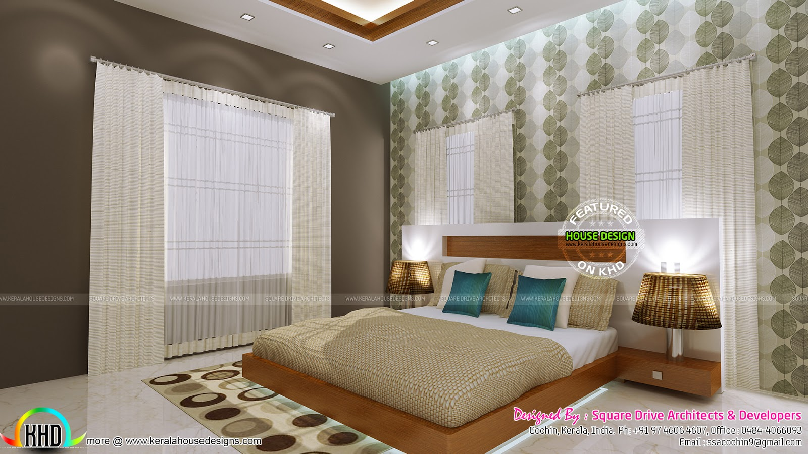 Very beautiful modern interior designs kerala home for Very beautiful house