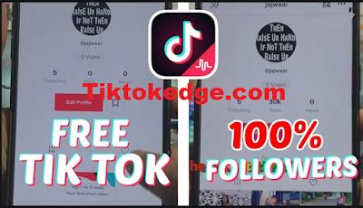 Tiktokedge.com | Really tiktokedge. com Get free tiktok followers