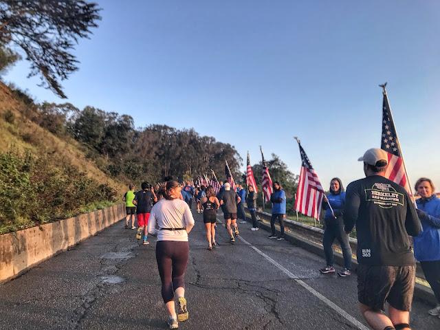 Rock'n'Roll San Francisco Half Marathon Wear Blue mile to Remember