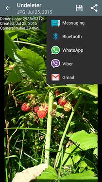 تطبيق Undeleter لاستعادة الملفات المحذوفة على الأندرويد بدون روت - صورة لقطة شاشة (2)