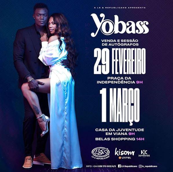Yola Araújo & Bass (Yobass) - YOBASS (Álbum Completo Download 2020)