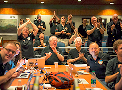Members Of The New Horizons Science Team Celebrating