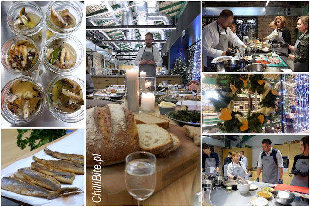 warsztaty kulinarne śledzie