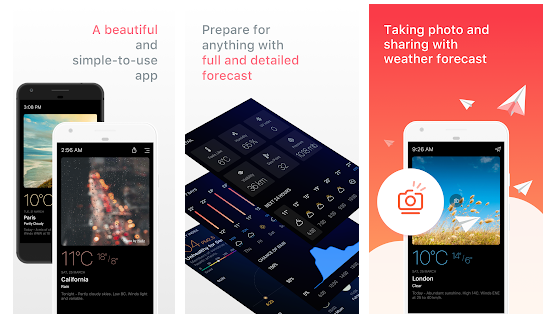 best weather app for android devices
