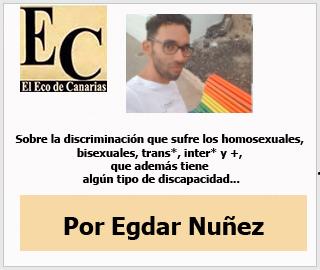 """Opinión Egdar Núñez: """"Diversidad sexual y Diversidad Funcional: de la doble discriminación"""""""