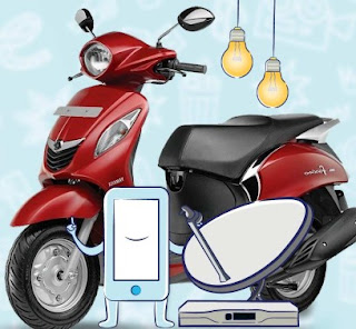 Paytm Coupons : Recharge Or Pay your Bill Win Yamaha Fascino & Movie Tickets