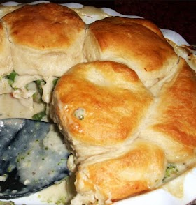 Easy Chicken Pot Pie with Grands Biscuit Topping