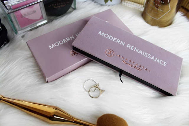 abh, anastasiabeverlyhills, flatlay, modern renaissance palette, review, swatches