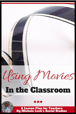 Whether you are teaching U.S. History, World History, Geography, or Government, there are great movies that can enhance student learning. Take a look at this great list and engage your students as the content is reinforced with flare! The first one is definitely worth the time. #movies #classroom #teaching #holocaust #history