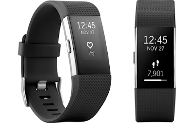 Fitbit Heart rate + Fitness Wristband  for mother's day gift