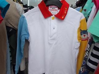39円子供服ミキハウス100㎝シャツ